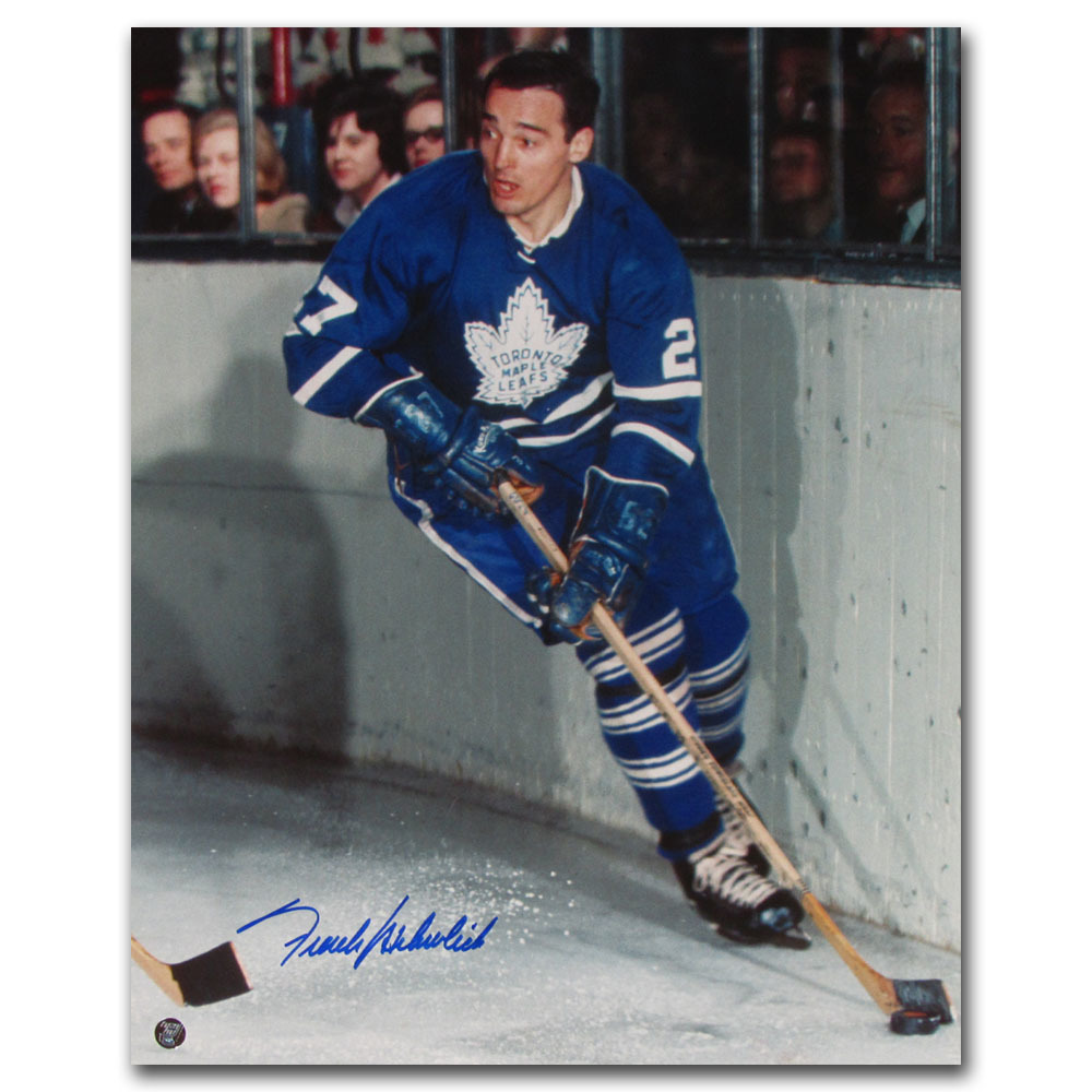 Frank Mahovlich Autographed Toronto Maple Leafs 16X20 Photo