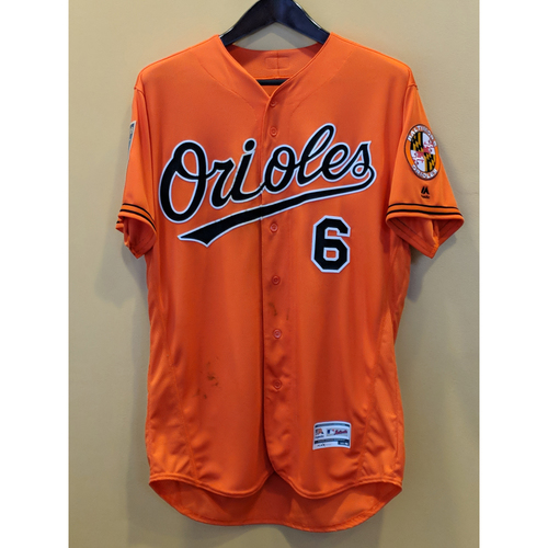 Photo of Jonathan Schoop - Spring Training Jersey: Game-Used