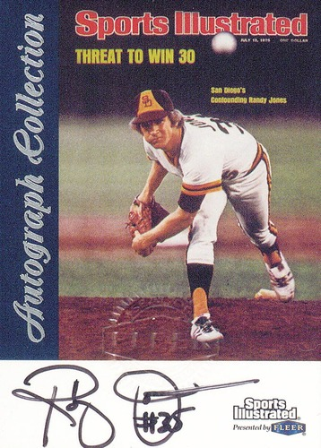 Photo of 1999 Sports Illustrated Greats of the Game Autographs #37 Randy Jones