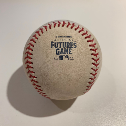 Photo of 2018 All Star Futures Game - Game Used Baseball - Batter: Yordan Alvarez Pitcher: Hunter Greene - Top 4th -  Ball