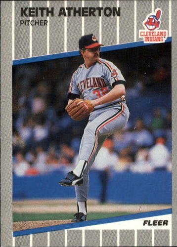 Photo of 1989 Fleer Update #24 Keith Atherton