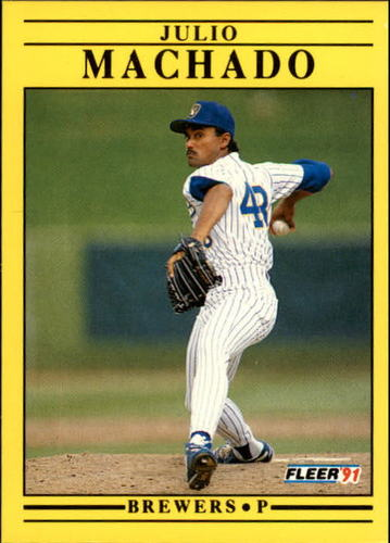 Photo of 1991 Fleer Update #31 Julio Machado
