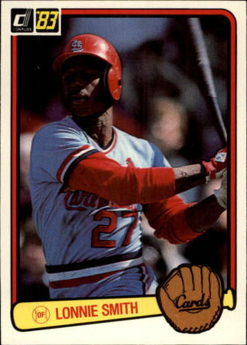 Photo of 1983 Donruss #91 Lonnie Smith