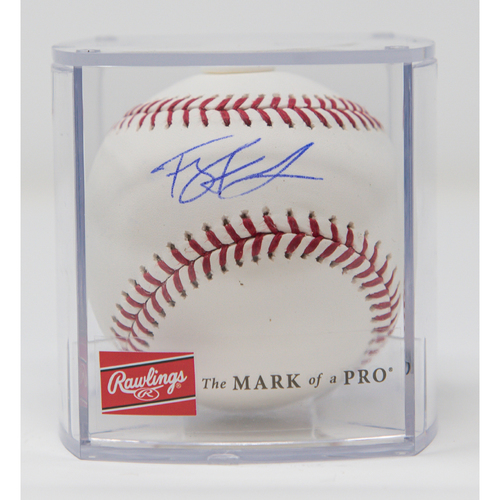 Photo of Ty France Autographed Baseball