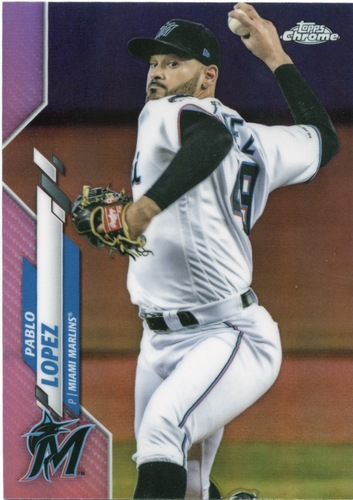 Photo of 2020 Topps Chrome Pink Refractors #152 Pablo Lopez