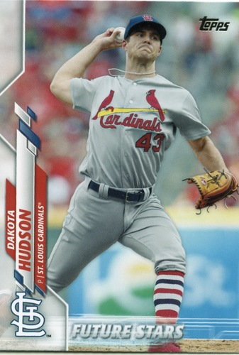 Photo of 2020 Topps #386 Dakota Hudson FS
