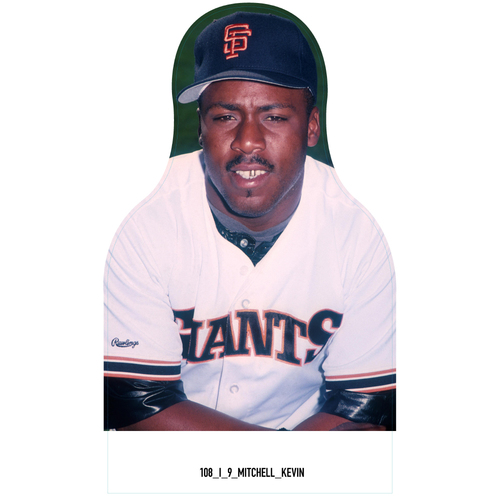Photo of Giants Community Fund: Giants Kevin Mitchell Cutout