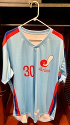 Photo of Jacksonville Expos Fauxback Jersey #30 Size 48