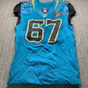 Jaguars - Austin Pasztor Game Used Jersey Size 44
