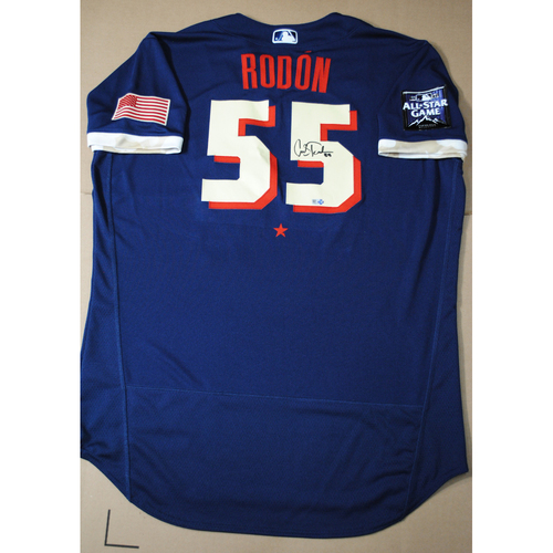 Photo of Carlos Rodon 2021 Major League Baseball All-Star Game Autographed Jersey