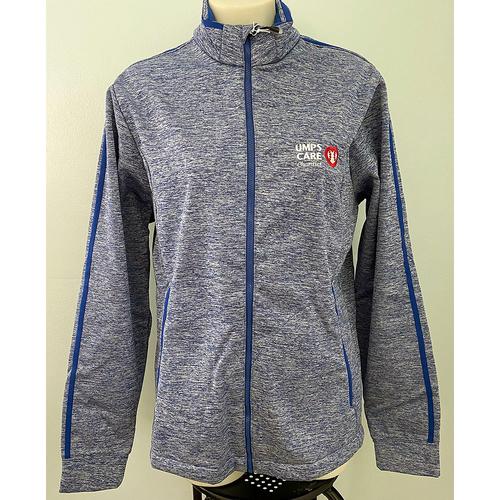 Photo of UMPS CARE AUCTION: UMPS CARE Antigua Heathered Blue Men's Golf Jacket, Size M