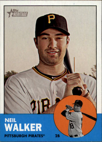 Photo of 2012 Topps Heritage #259 Neil Walker