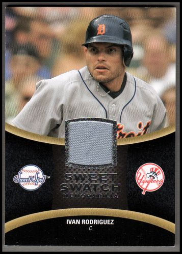 Photo of 2008 Sweet Spot Swatches #SIR Ivan Rodriguez NM-MT
