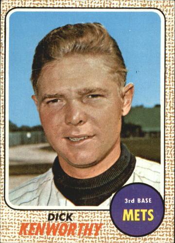 Photo of 1968 Topps #63 Dick Kenworthy RC