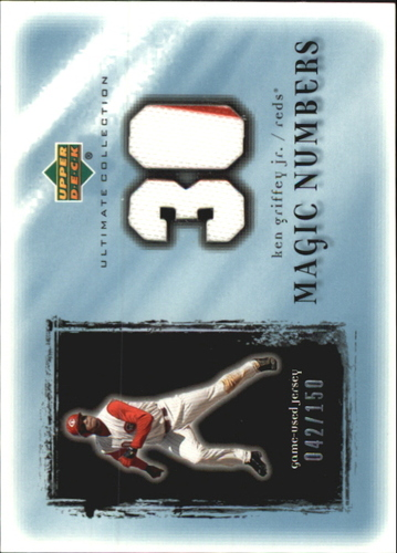 Photo of 2001 Ultimate Collection Magic Numbers Game Jersey #MNKG Ken Griffey Jr.