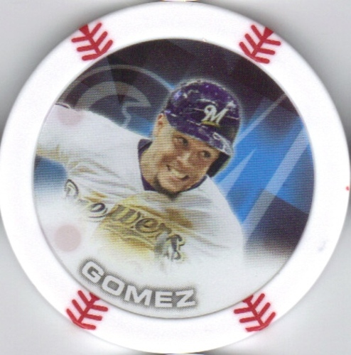 Photo of 2014 Topps Chipz #31 Carlos Gomez