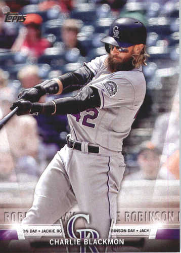 Photo of 2018 Topps Salute #TS10 Charlie Blackmon