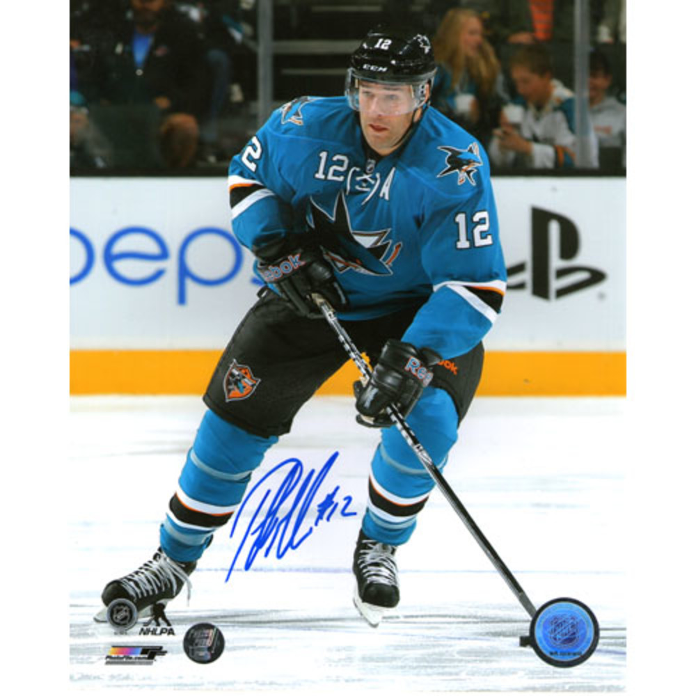 Patrick Marleau Autographed San Jose Sharks 16X20 Photo