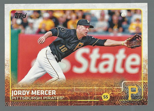 Photo of 2015 Topps #269 Jordy Mercer