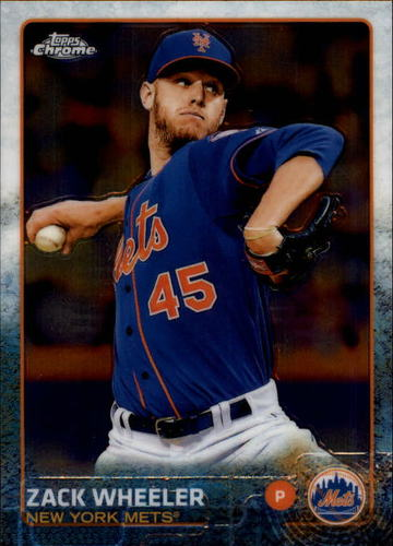 Photo of 2015 Topps Chrome #117 Zack Wheeler