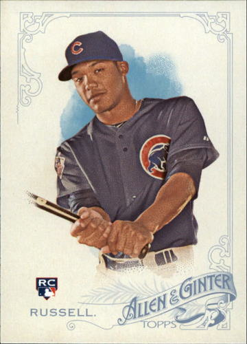 Photo of 2015 Topps Allen and Ginter #133 Addison Russell RC