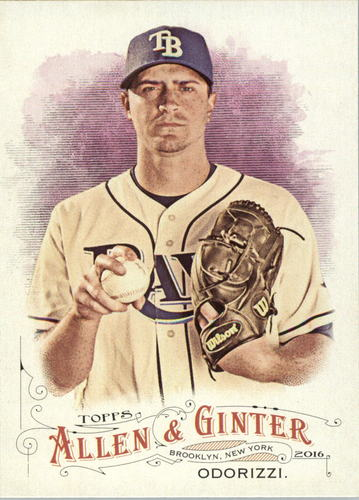 Photo of 2016 Topps Allen and Ginter #43 Jake Odorizzi