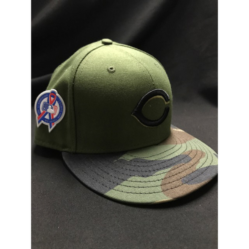 Photo of Matt Harvey - Game-Used - Military Appreciation Hat (Worn: 2018)