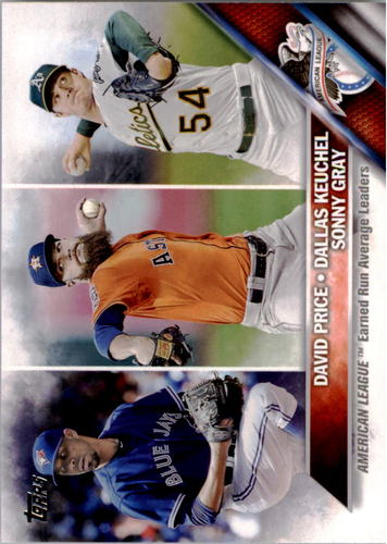 Photo of 2016 Topps #185 Dallas Keuchel/Sonny Gray/David Price LL