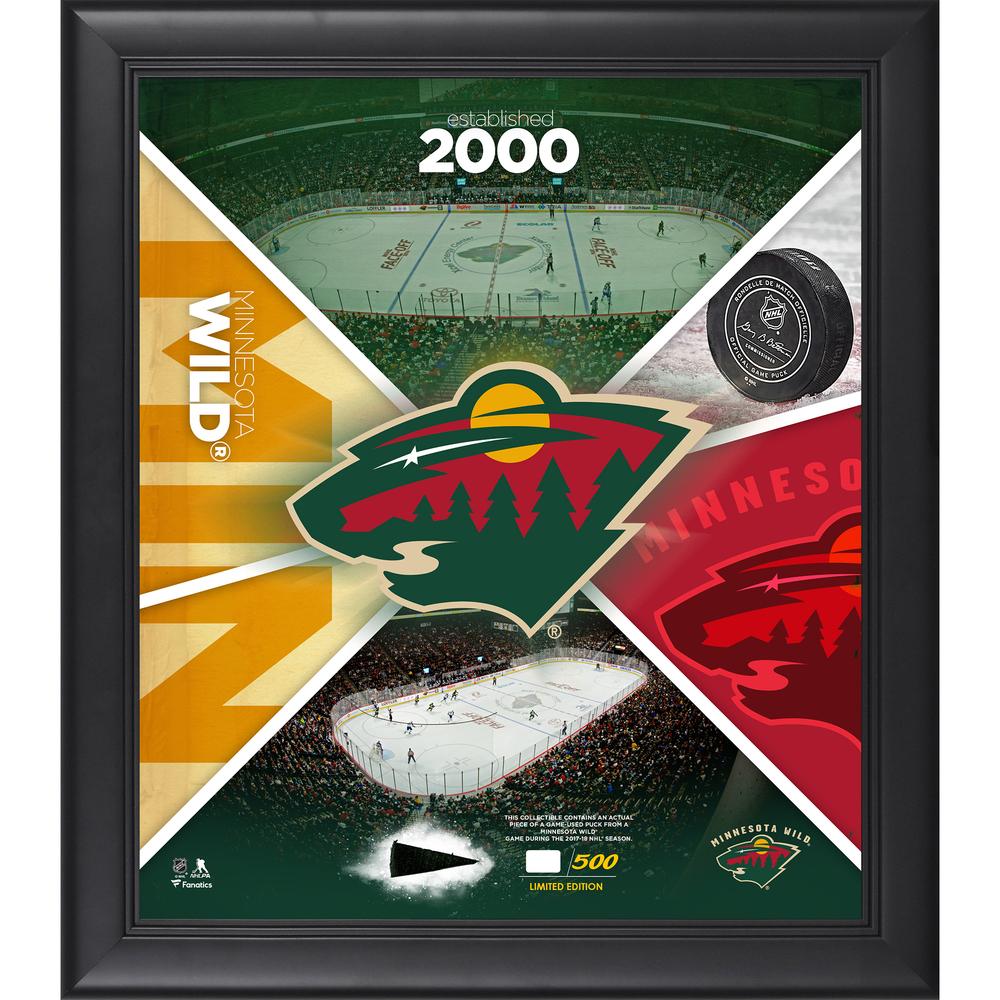 Minnesota Wild Framed 15