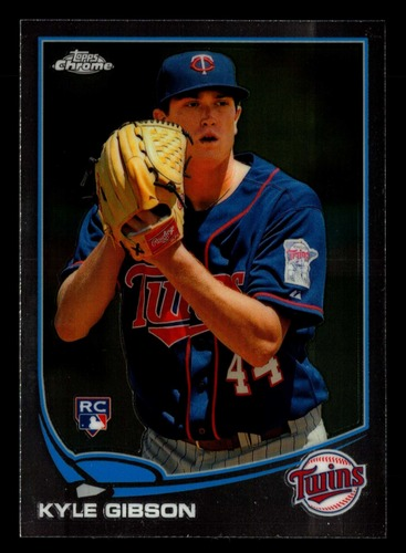 Photo of 2013 Topps Chrome #87 Kyle Gibson Rookie Card