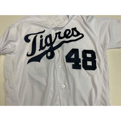 Photo of Game-Used Fiesta Tigres Jersey: Matt Boyd