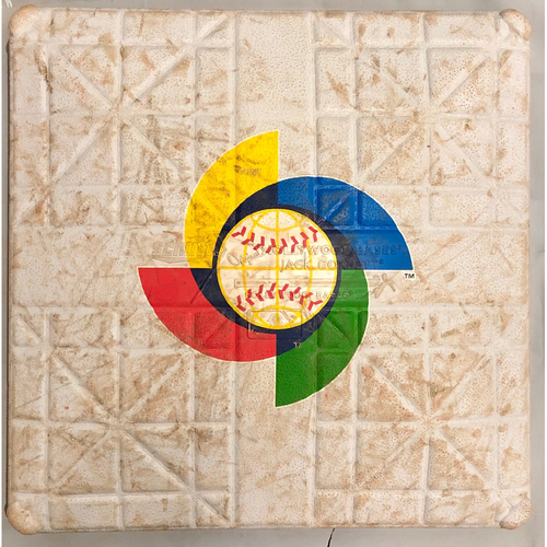 Photo of 2013 World Baseball Classic Game Used Base- 3rd Base (Innings 1-9) (Kingdom of the Netherlands vs Japan)