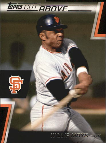 Photo of 2012 Topps A Cut Above #ACA14 Willie Mays