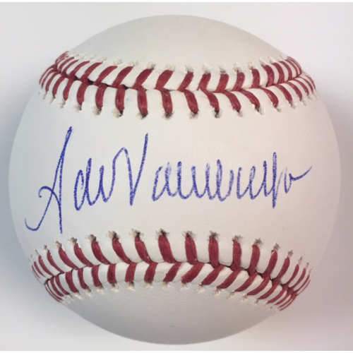 Photo of Fernando Valenzuela Autographed Baseball