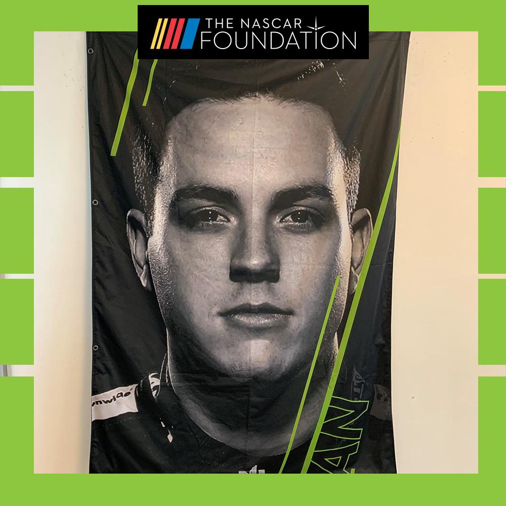 NASCAR's Alex Bowman 2018 MENCS Playoff Banner!