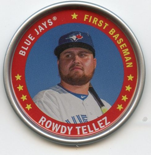 Photo of 2019 Topps Archives Coins #C8 Rowdy Tellez