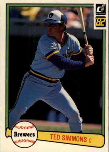 Photo of 1982 Donruss #106 Ted Simmons