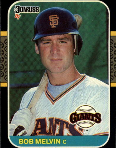 Photo of 1987 Donruss #239 Bob Melvin