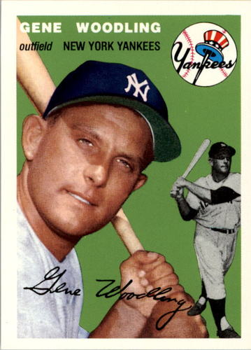 Photo of 1994 Topps Archives '54 #101 Gene Woodling