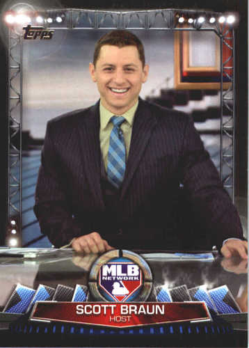 Photo of 2017 Topps MLB Network #MLBN26 Scott Braun