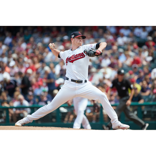 Photo of PRESALE - Shane Bieber Team-Issued or Game-Worn Jersey from 9/5/20 Game