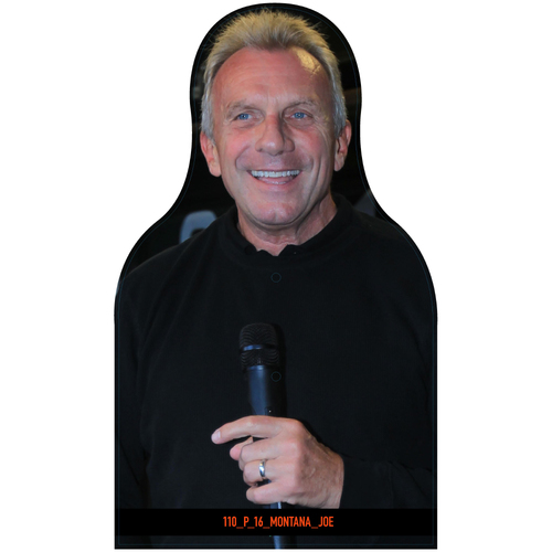 Photo of Giants Community Fund: Giants Joe Montana Cutout