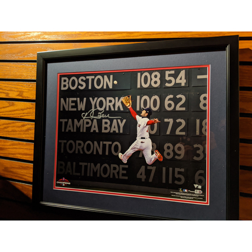Photo of Andrew Benintendi Autographed Framed Photo