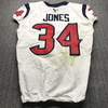 London Games - Texans Taiwan Jones Game Used Jersey (11/3/19) Size 42