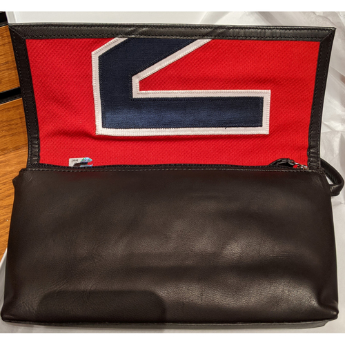 Tokens And Icons Game Used Jersey Purse