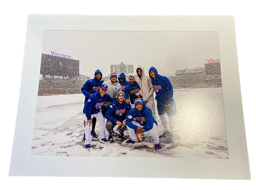 Photo of Clubhouse Photo -- Snowpening Day -- Size 30 X 40 in.