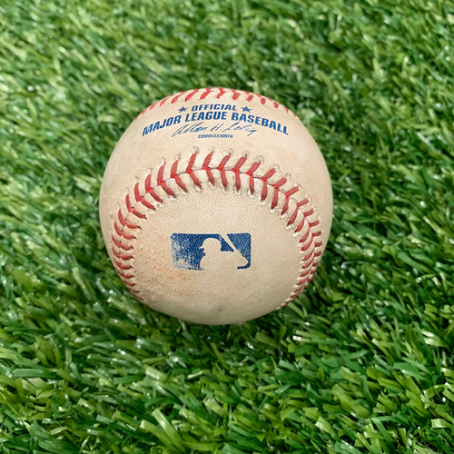 Photo of Minnesota Twins: 2014 Game-used Baseball - P: Glen Perkins, H: Paul Konerko, Single Top 9 - 6/21/2014 vs Chicago White Sox