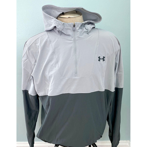 Photo of UMPS CARE AUCTION: Under Armour Men's Grey Pullover Jacket, Size 2XL