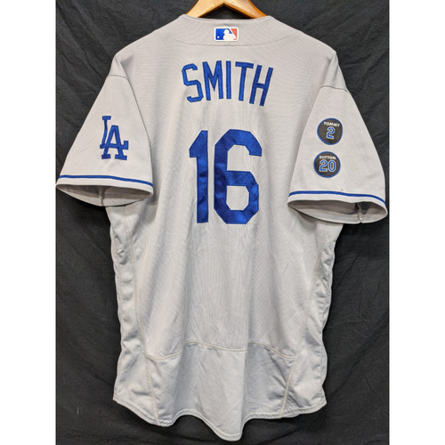 Photo of Will Smith Game-Used Jersey - Last Road Game of 2021 Regular Season - 9/26 at ARI