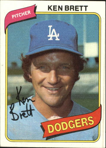 Photo of 1980 Topps #521 Ken Brett